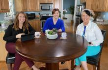 Bloom Today op Family7 Talkshow met Ginny Priz en Paula Mosher Wallace