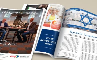 Adverteren in Family7 Magazine